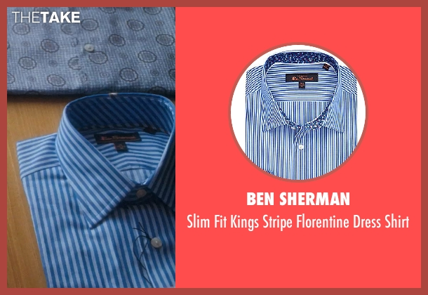 Ben Sherman shirt from Crazy, Stupid, Love. seen with Unknown Actor (Unknown Character)