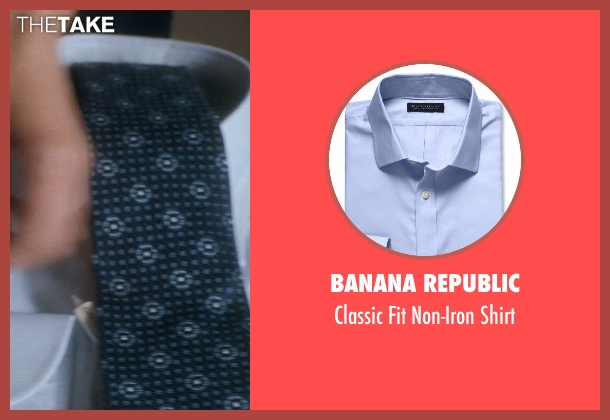 Banana Republic shirt from Crazy, Stupid, Love. seen with Unknown Actor (Unknown Character)