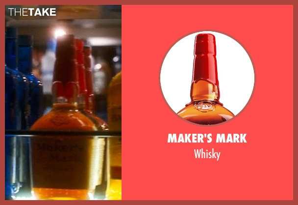 Maker's Mark whisky from Crazy, Stupid, Love. seen with Unknown Actor (Unknown Character)