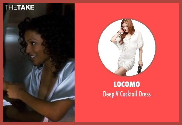 Locomo white dress from Crazy, Stupid, Love. seen with Unknown Actor (Unknown Character)