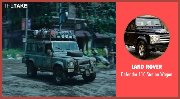 LAND ROVER wagon from Dawn of the Planet of the Apes seen with Unknown Actor (Unknown Character)