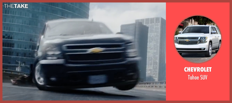 Chevrolet suv from Deadpool seen with Unknown Actor (Unknown Character)
