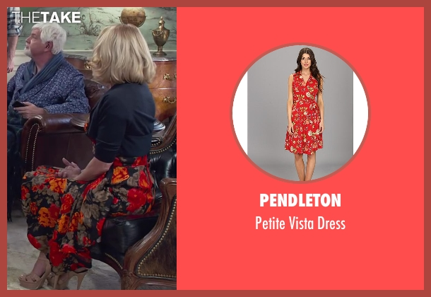 Pendleton red dress from Dumb and Dumber To seen with Unknown Actor (Unknown Character)