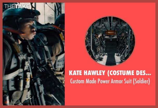 Kate Hawley (Costume Designer) suit from Edge of Tomorrow seen with Unknown Actor (Unknown Character)