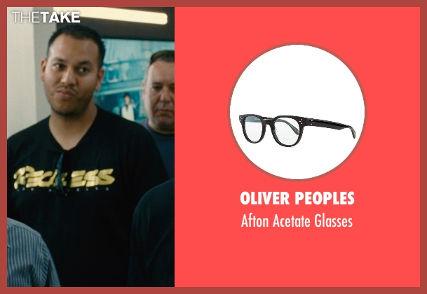 Oliver Peoples black glasses from Entourage seen with Unknown Actor (Unknown Character)