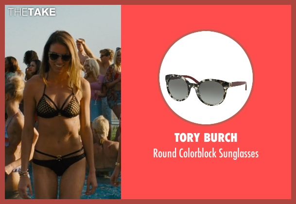 Tory Burch black sunglasses from Entourage seen with Unknown Actor (Unknown Character)