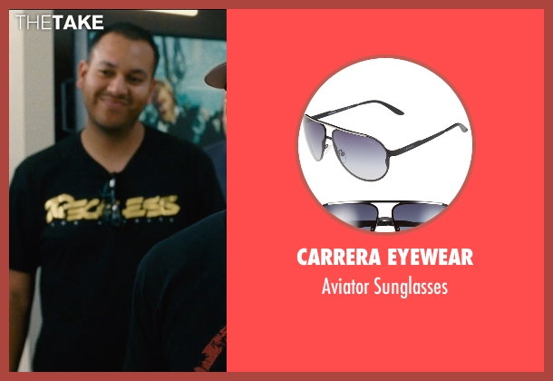 Carrera Eyewear black sunglasses from Entourage seen with Unknown Actor (Unknown Character)