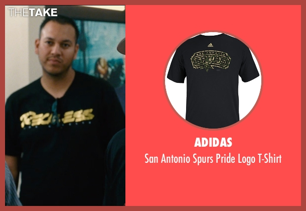 Adidas black t-shirt from Entourage seen with Unknown Actor (Unknown Character)
