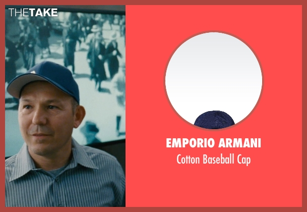 Emporio Armani blue cap from Entourage seen with Unknown Actor (Unknown Character)