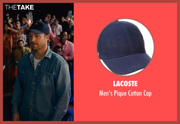 Lacoste blue cap from Entourage seen with Unknown Actor (Unknown Character)