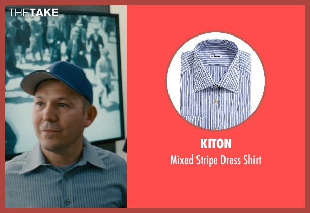Kiton blue shirt from Entourage seen with Unknown Actor (Unknown Character)