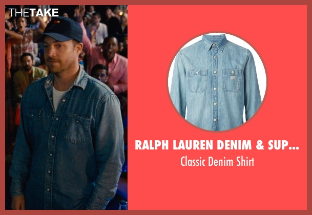 Ralph Lauren Denim & Supply blue shirt from Entourage seen with Unknown Actor (Unknown Character)