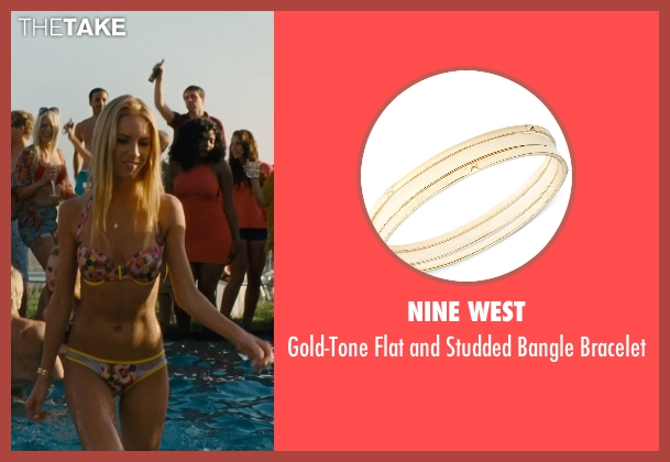 Nine West gold bracelet from Entourage seen with Unknown Actor (Unknown Character)