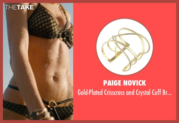 Paige Novick gold bracelet from Entourage seen with Unknown Actor (Unknown Character)