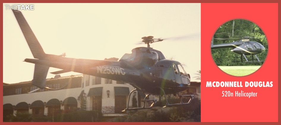 Mcdonnell Douglas helicopter from Entourage seen with Unknown Actor (Unknown Character)