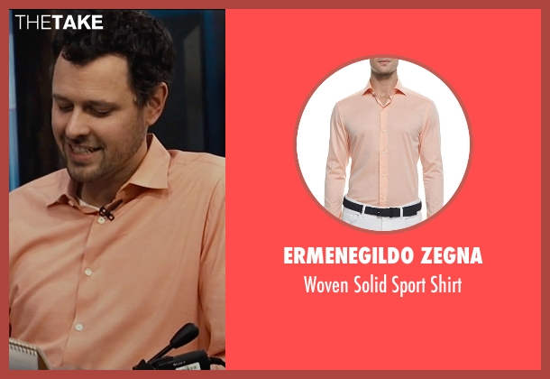 Ermenegildo Zegna orange shirt from Entourage seen with Unknown Actor (Unknown Character)