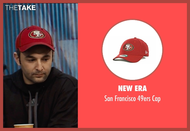 New Era red cap from Entourage seen with Unknown Actor (Unknown Character)