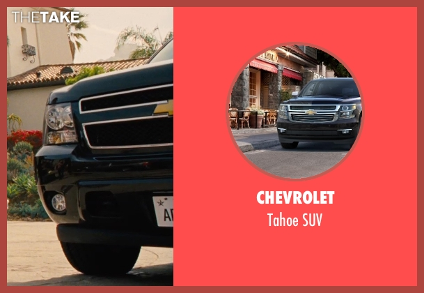 Chevrolet suv from Entourage seen with Unknown Actor (Unknown Character)