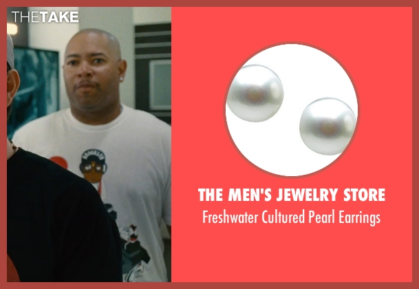 The Men's Jewelry Store white earrings from Entourage seen with Unknown Actor (Unknown Character)