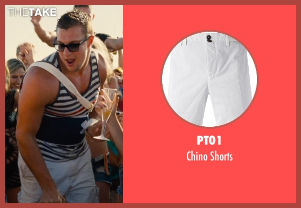 PT01 white shorts from Entourage seen with Unknown Actor (Unknown Character)