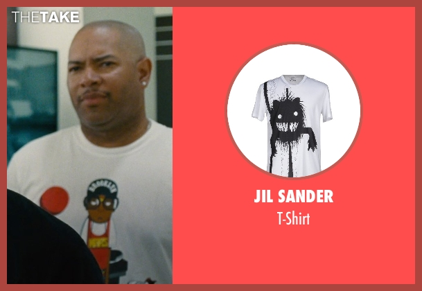 Jil Sander white t-shirt from Entourage seen with Unknown Actor (Unknown Character)