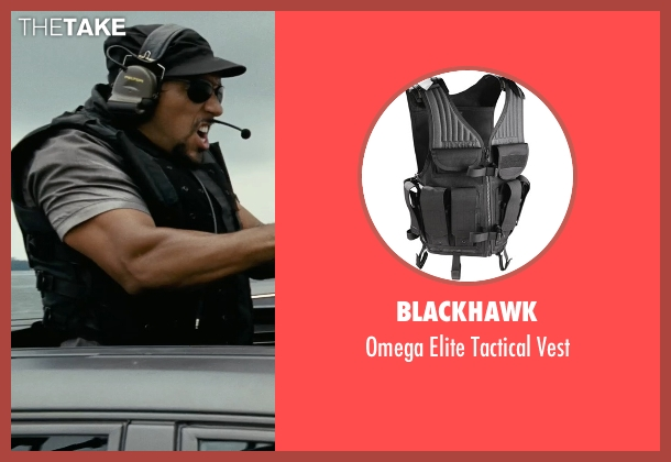 BlackHawk vest from Fast Five seen with Unknown Actor (Unknown Character)