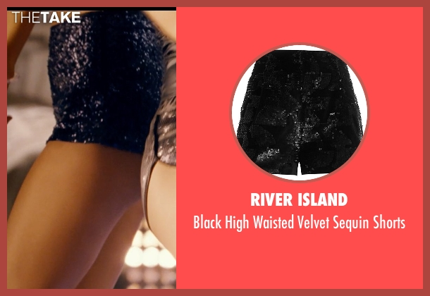 River Island black shorts from Fast & Furious 6 seen with Unknown Actor (Unknown Character)