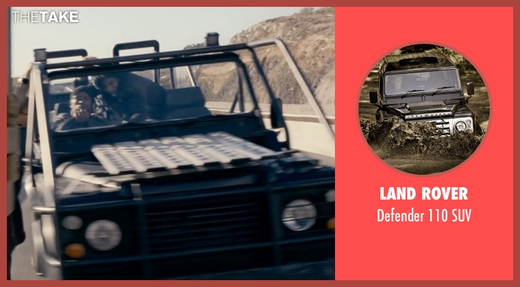Land Rover suv from Fast & Furious 6 seen with Unknown Actor (Unknown Character)
