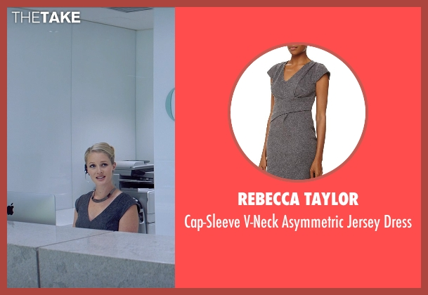 Rebecca Taylor gray dress from Fifty Shades of Grey seen with Unknown Actor (Unknown Character)
