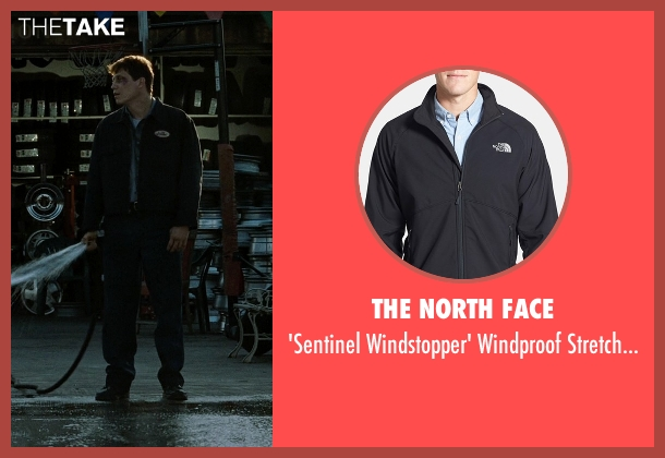 The North Face black jacket from Fight Club seen with Unknown Actor (Unknown Character)