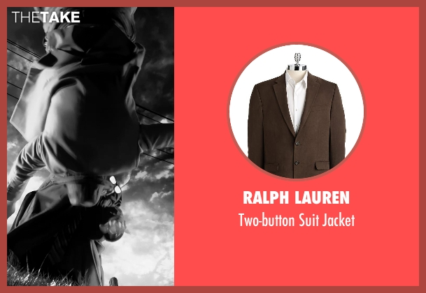 Ralph Lauren brown jacket from Frank Miller's Sin City: A Dame To Kill For seen with Unknown Actor (Unknown Character)