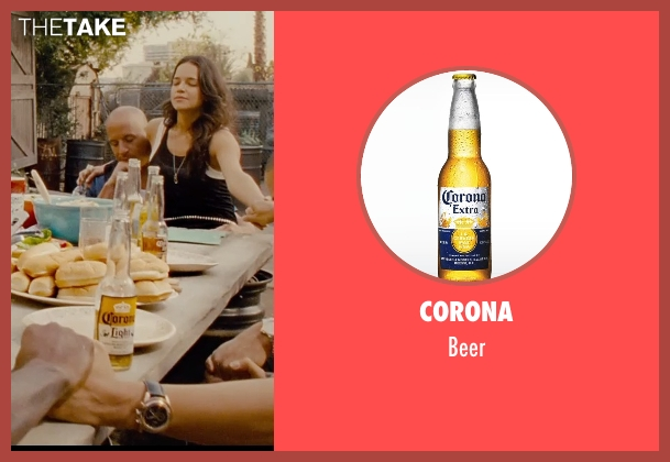 Corona beer from Furious 7 seen with Unknown Actor (Unknown Character)