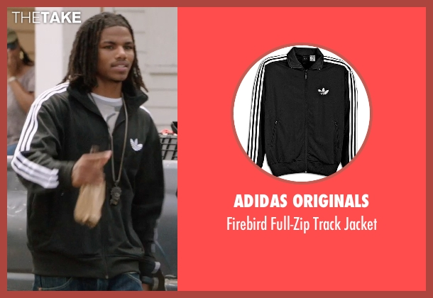 Adidas Originals black jacket from Get Hard seen with Unknown Actor (Unknown Character)
