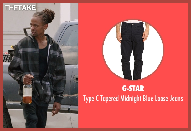 G-Star black jeans from Get Hard seen with Unknown Actor (Unknown Character)