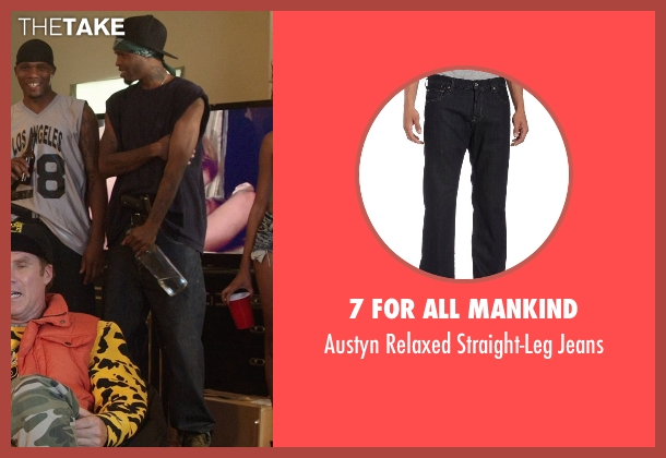 7 For All Mankind black jeans from Get Hard seen with Unknown Actor (Unknown Character)