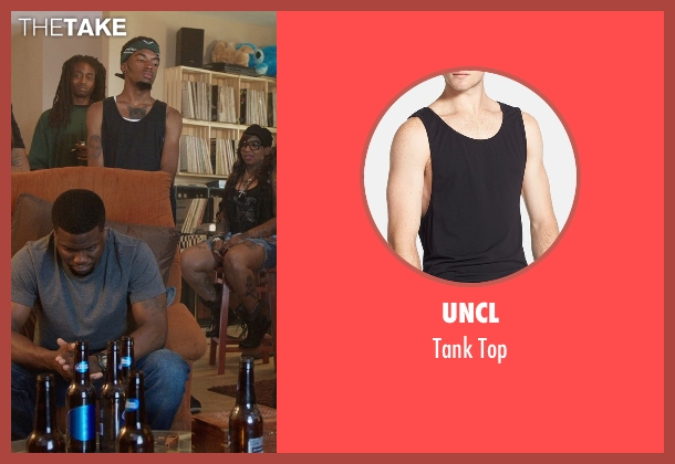 UNCL black top from Get Hard seen with Unknown Actor (Unknown Character)