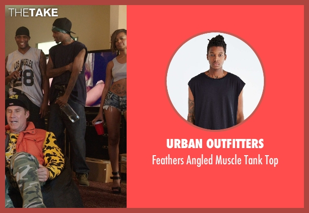 Urban Outfitters black top from Get Hard seen with Unknown Actor (Unknown Character)