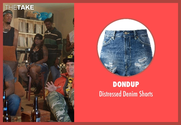 Dondup blue shorts from Get Hard seen with Unknown Actor (Unknown Character)