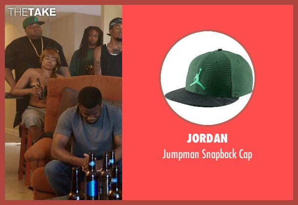 Jordan green cap from Get Hard seen with Unknown Actor (Unknown Character)