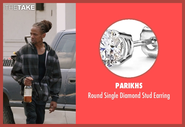 Parikhs silver earring from Get Hard seen with Unknown Actor (Unknown Character)