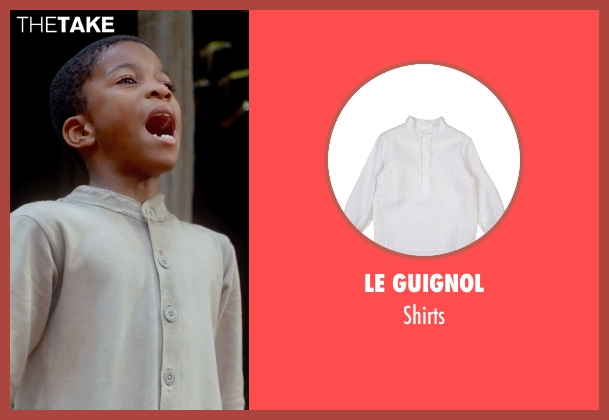 Le Guignol beige shirts from Get On Up seen with Unknown Actor (Unknown Character)