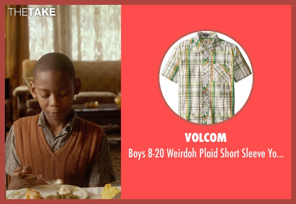 Volcom beige youth from Get On Up seen with Unknown Actor (Unknown Character)