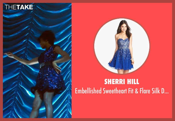 Sherri Hill blue dress from Get On Up seen with Unknown Actor (Unknown Character)