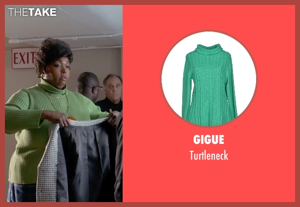 Gigue green turtleneck from Get On Up seen with Unknown Actor (Unknown Character)