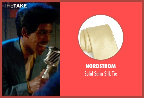 Nordstrom yellow tie from Get On Up seen with Unknown Actor (Unknown Character)