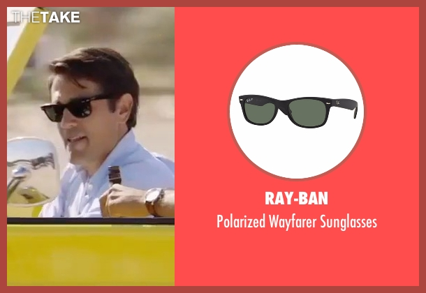 Ray-Ban black sunglasses from Gold seen with Unknown Actor (Unknown Character)