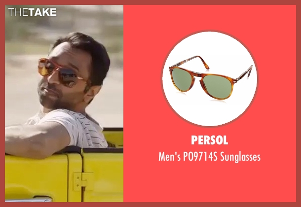 Persol brown sunglasses from Gold seen with Unknown Actor (Unknown Character)