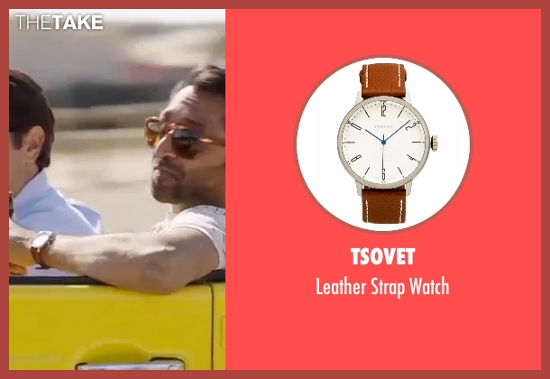 Tsovet brown watch from Gold seen with No Actor