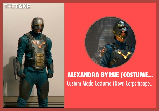 Alexandra Byrne (Costume Designer) costume from Guardians of the Galaxy seen with Unknown Actor (Unknown Character)