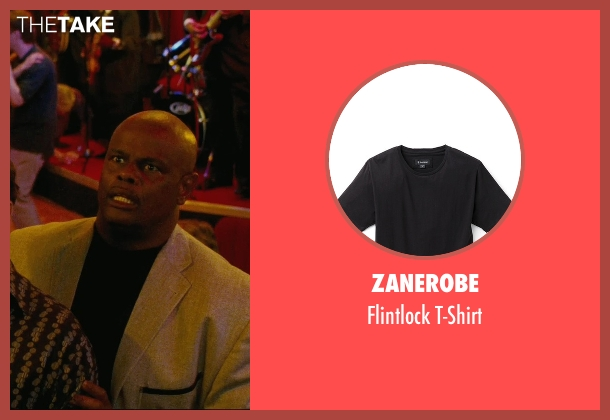 Zanerobe black t-shirt from Hall Pass seen with Unknown Actor (Unknown Character)